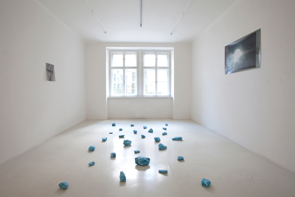 Installation view at gallery Fotograf, Prague, CZ